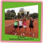 Kampioenen Najaarscompetitie 2014 – dames 17+ / 3e klasse